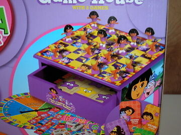Dora Game House With 8 Games Ebay