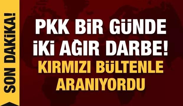 PKK'ya darbe üstüne darbe: Kırmızı bültenle aranan terörist teslim oldu! 1