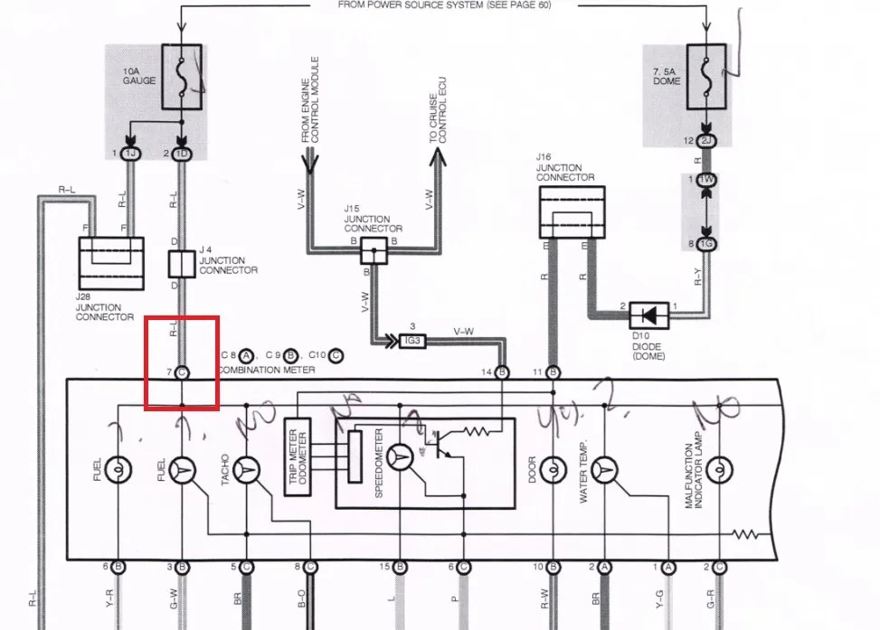 Wiring Diagram For Previa Rheostat