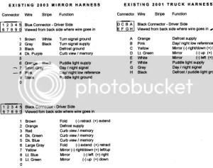 SilveradoSierra • Anyone have 2003 Tow heat signal mirror wiring schematics? : Electrical