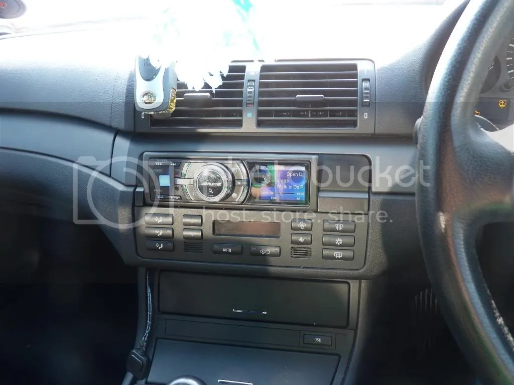 hight resolution of 2003 bmw e46 m3 standard alpine double din stereo ebay