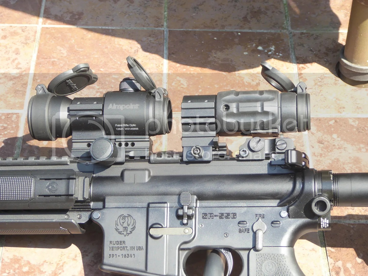 sr556 with aimpoint optics