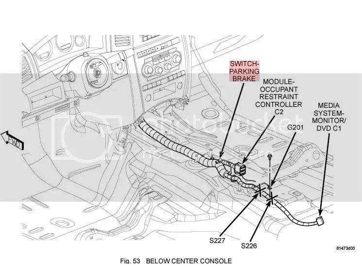 Service manual [2008 Jeep Commander How To Adjust Parking
