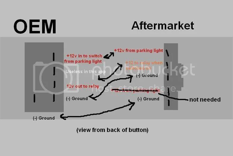 use factory fog light switch aftermarket fog lights wiringdiagram