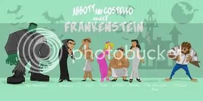 abbott and costello meet frankenstein,scott cooper,artist