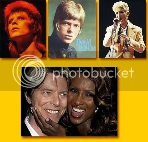 Bowie toen en nu