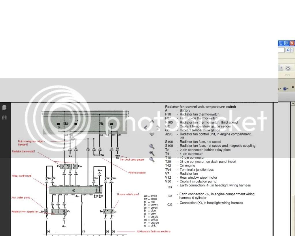 corrado vr6 wiring diagram 99 jeep xj radio mk2 golf conversion twin fan setup