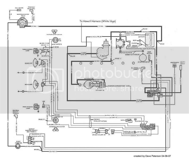 Howell Electric Motor Wiring Diagram $ Download-app.co