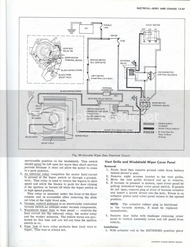 Wiring Diagram Help Vette Corvetteforum Chevrolet