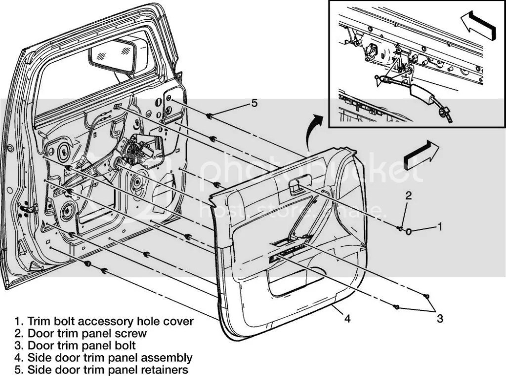 [Diagrams To Remove 2009 Hummer H2 Driver Door Panel