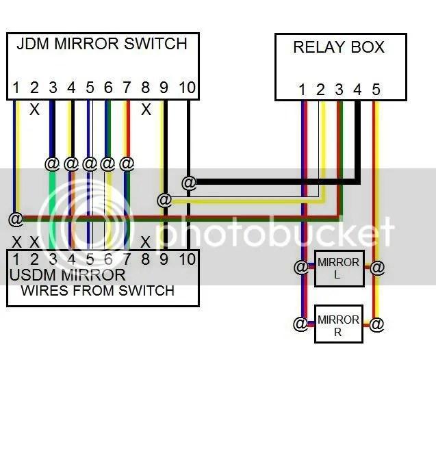 How to install JDM Power folding mirrors  Honda Prelude