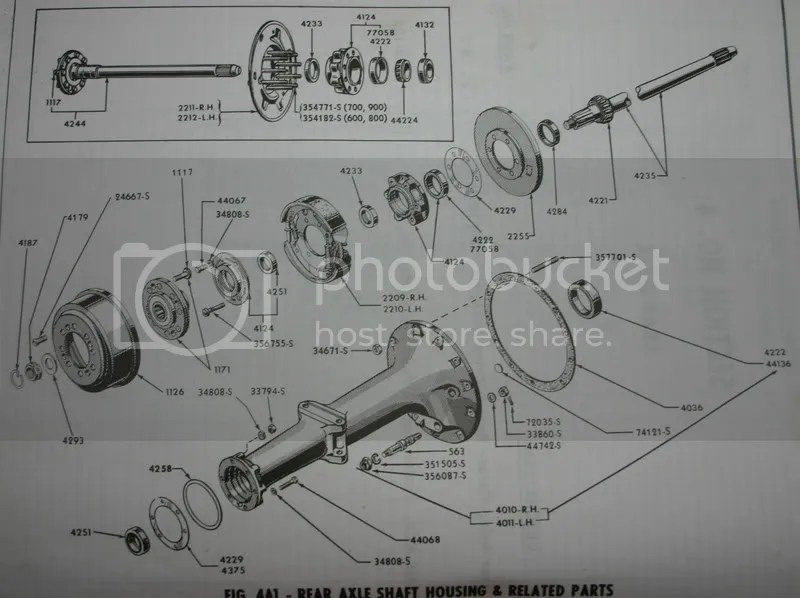 Rear Diagram For 8n Tractor