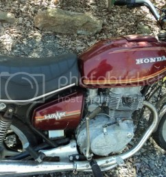 1979 honda hawk parts [ 1024 x 768 Pixel ]