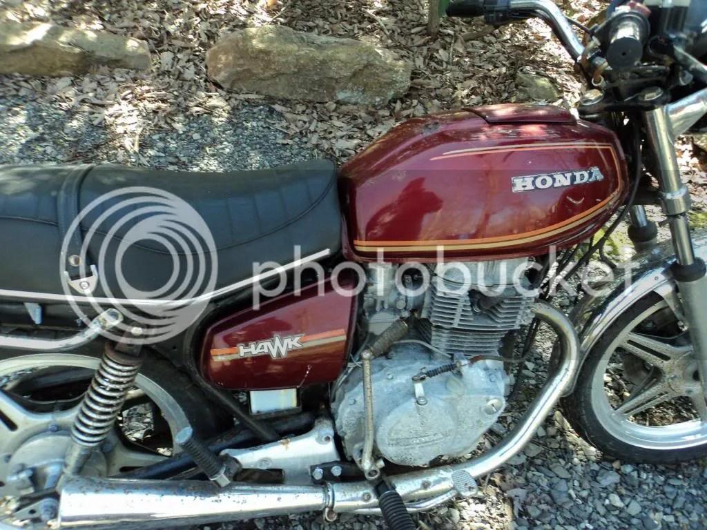 hight resolution of 1979 honda hawk parts