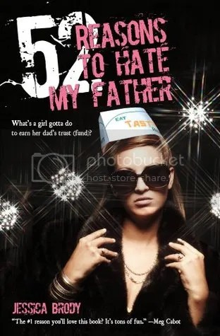 52 Reasons to Hate My Father by Jessica Brody Cover - Review