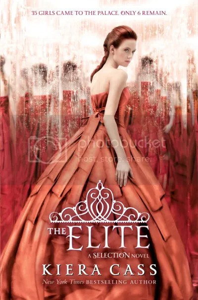 The Elite by Kiera Cass Cover - Review