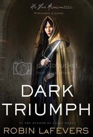 Dark Triumph by Robin LaFevers Cover - Review