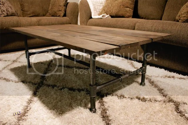 Industrial Coffee Table - All Precious & Pleasant
