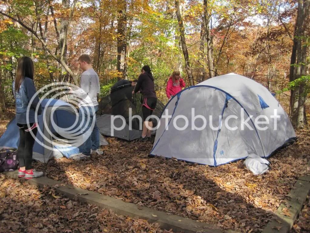 Camping Fall 2013