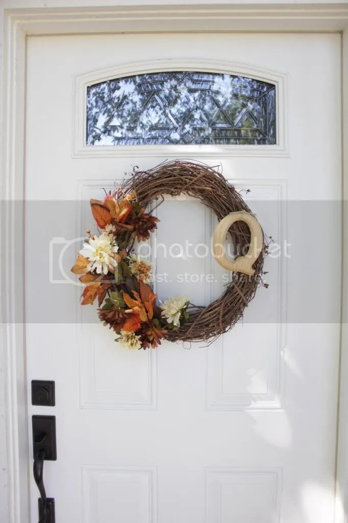 Fall Wreath - All Precious & Pleasant Blog