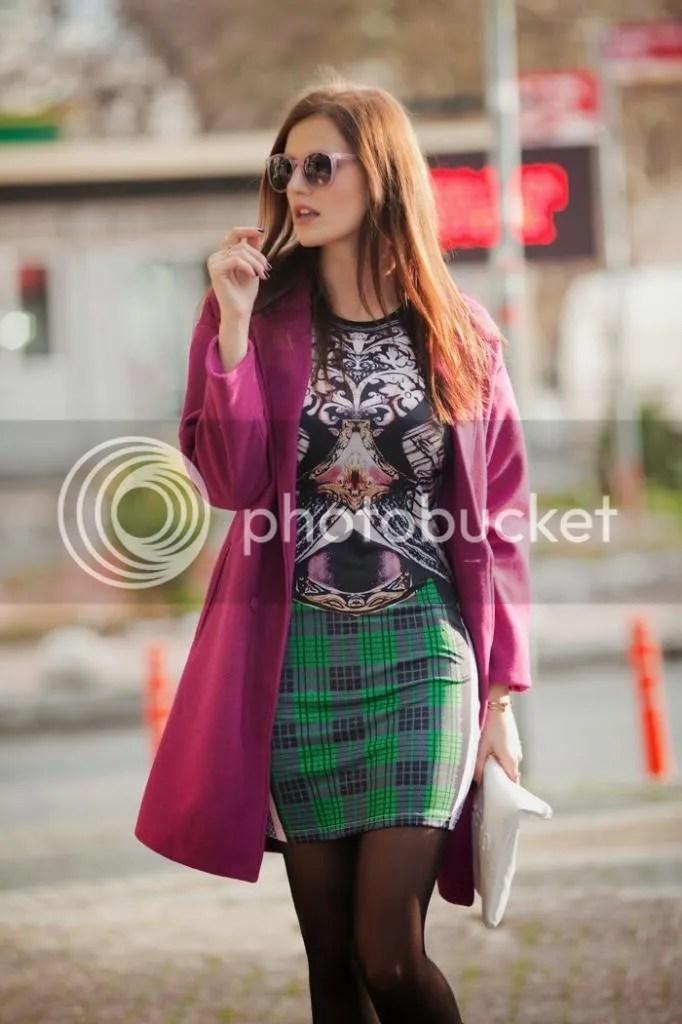 photo viktoriya sener fashion blogger from turkey wearing purple romwe coat printed mini dress freyrs pink sunglasses asos brogues_zpsso2ohbsl.jpg