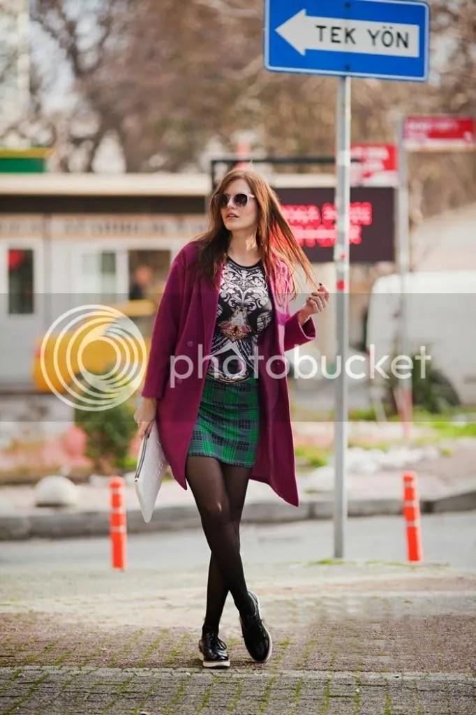 photo viktoriya sener fashion blogger from turkey wearing purple romwe coat printed mini dress freyrs pink sunglasses asos brogues_zpsuyoizdi8.jpg