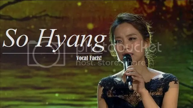 Sohyang Vocal Facts