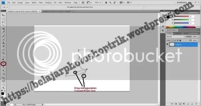 Belajar Photoshop Dasar Menggunakan Pen Tool
