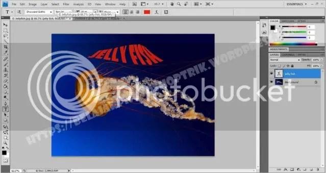 Belajar Photoshop Membuat Warping Text