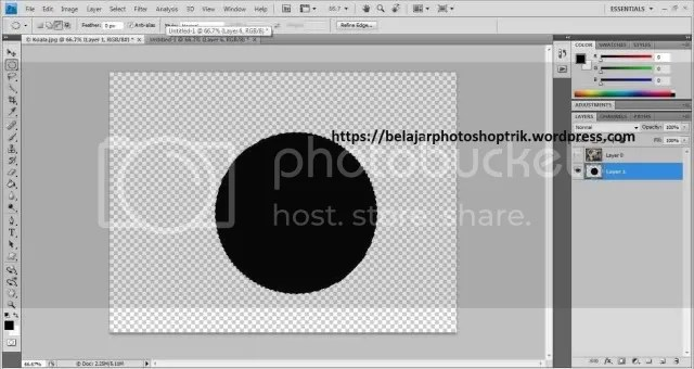 Belajar Photoshop Memahami Clipping Mask
