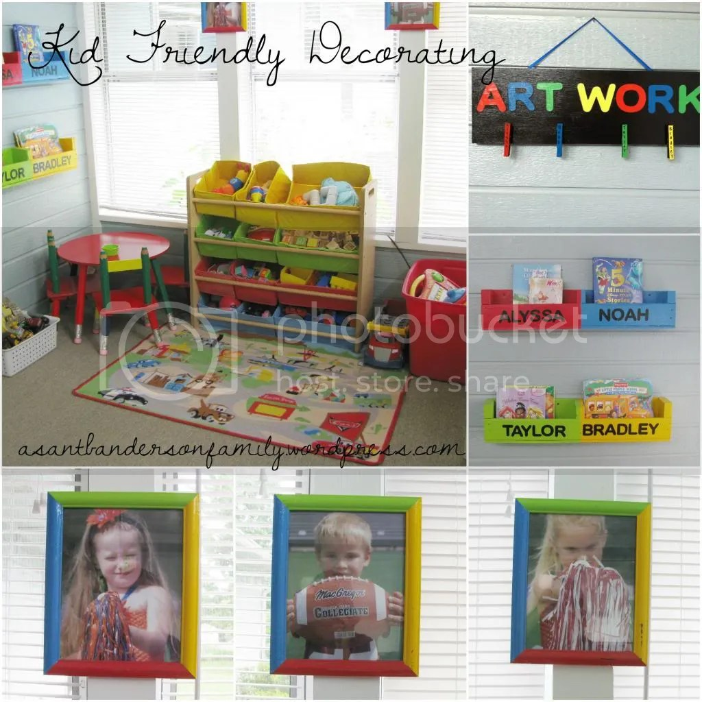 Kid Friendly Decorating