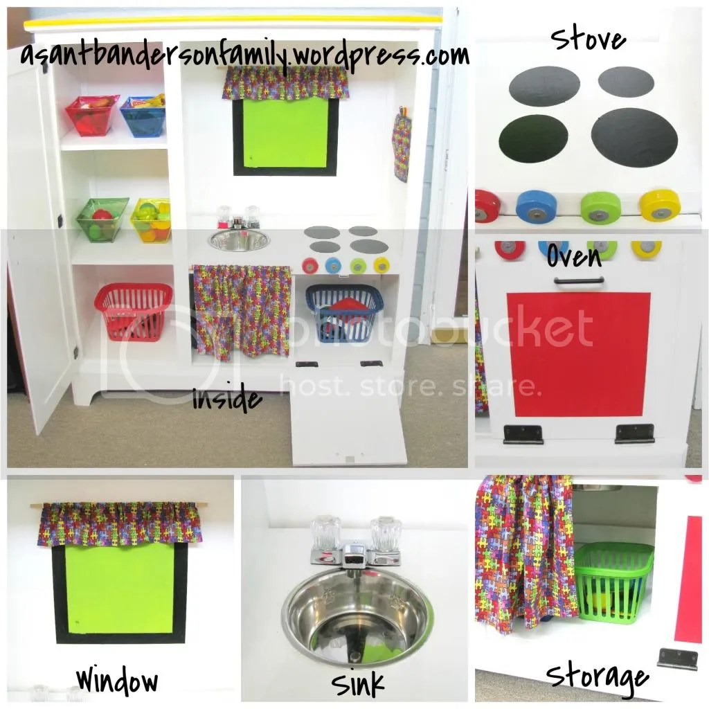 Upcycle Play Kitchen