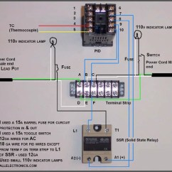 Pid Temperature Controller Kit Wiring Diagram 2 Way Uk How To Make A For Your Casting Furnace Ar15 Com I Used This Wire The Switch Indicator Light And Fuse