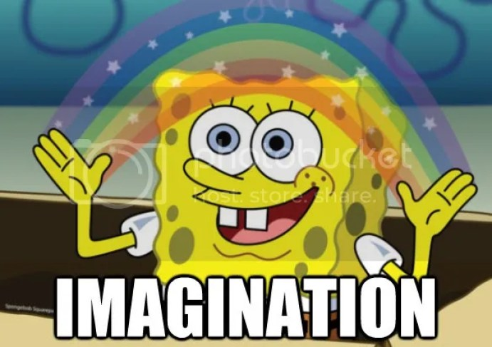 Imagination! Idiot Box Spongebob Squarepants