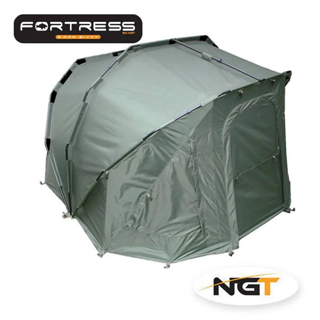 ngt fishing chair wooden desk with wheels full carp set up three rib bivvy tent bed 3