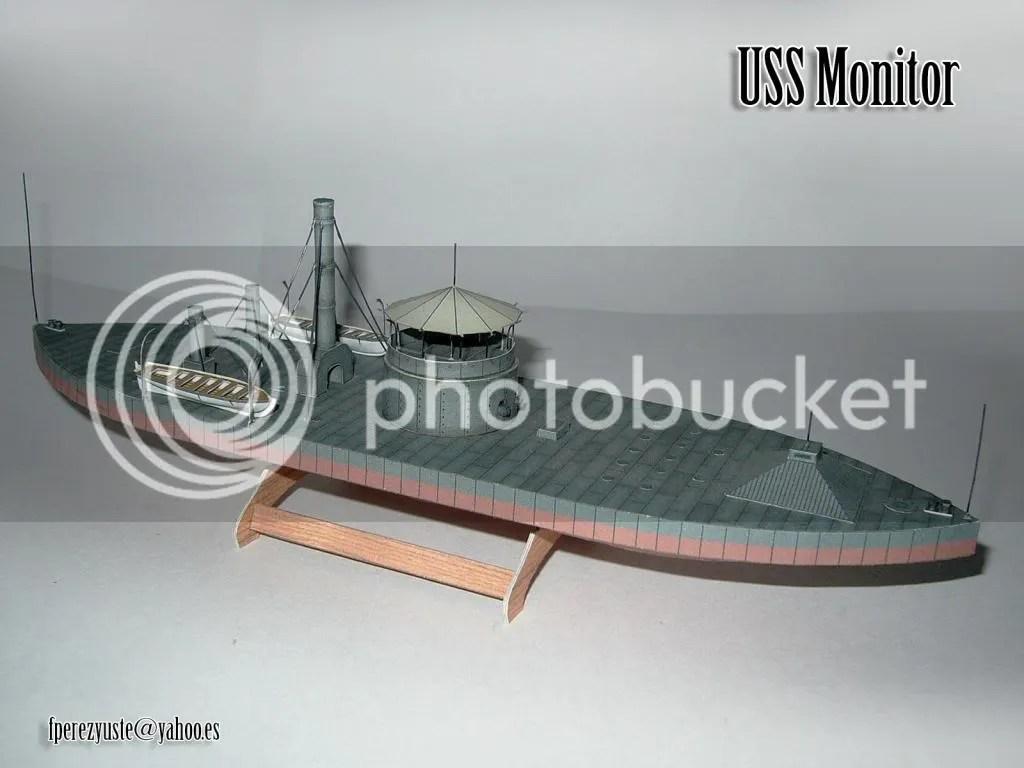 uss monitor diagram shark respiratory system 1 200 paper model heinkel models wargame vault