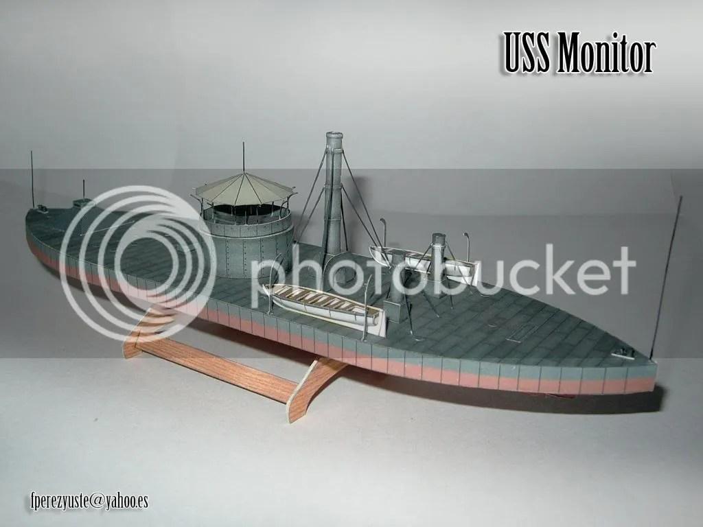 uss monitor diagram low voltage landscape lighting wiring 1 200 paper model heinkel models wargame vault