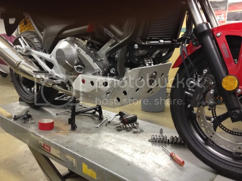 Nc700 skid plate - Page 19