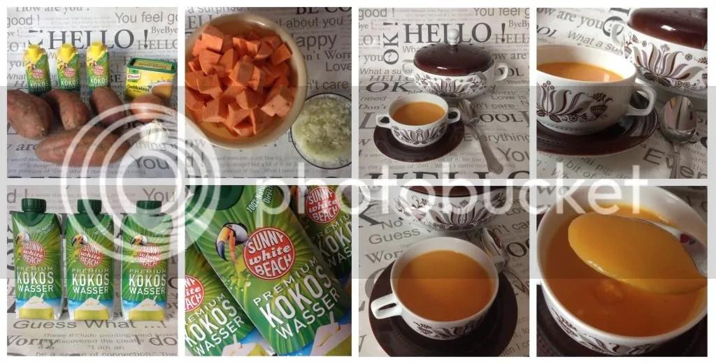 Ich bin dann mal kurz in der Küche] – Süßkartoffelsuppe mit Kokos ...