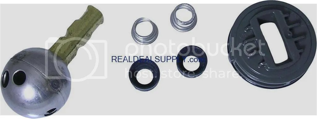 real deal supply delta repair kit for acrylic knob units 445469