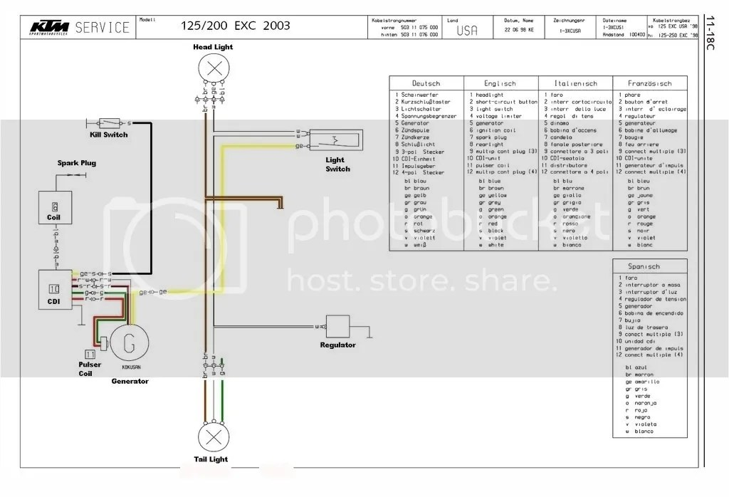 Sx Wiring Diagram Wiring Help On 1994 Ktm Exc 250 Ktm Forums Ktm