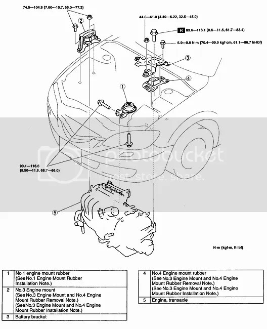 Ford Focus Motor Mounts Diagram. Ford. Auto Parts Catalog