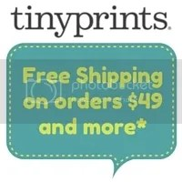 Limited Time Only. Enjoy Free Standard Shipping with your order of $49 or more using the code FREESHIP49 at checkout. Shipping offer applies to non-sample orders shipped to a location within the 48 contiguous United States. Shipping offer applies to Standard Shipping rates only. Merchandise must total $69 or more, before taxes, rush processing, proofs, shipping and other charges for promotion to apply. Offer is not applicable to previously placed orders or toward the purchase of gift certificates or personalized postage stamps. Offer is only valid on Tinyprints.com and is not applicable on third party or partner websites. To prevent fraud or abuse, we reserve the right to discontinue or modify this offer or cancel any order.