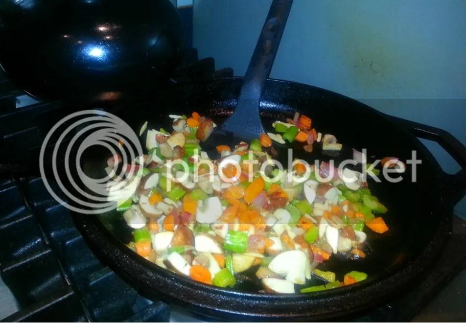 Wild Rice Pilaf Stuffed Acorn Squash (5/6)