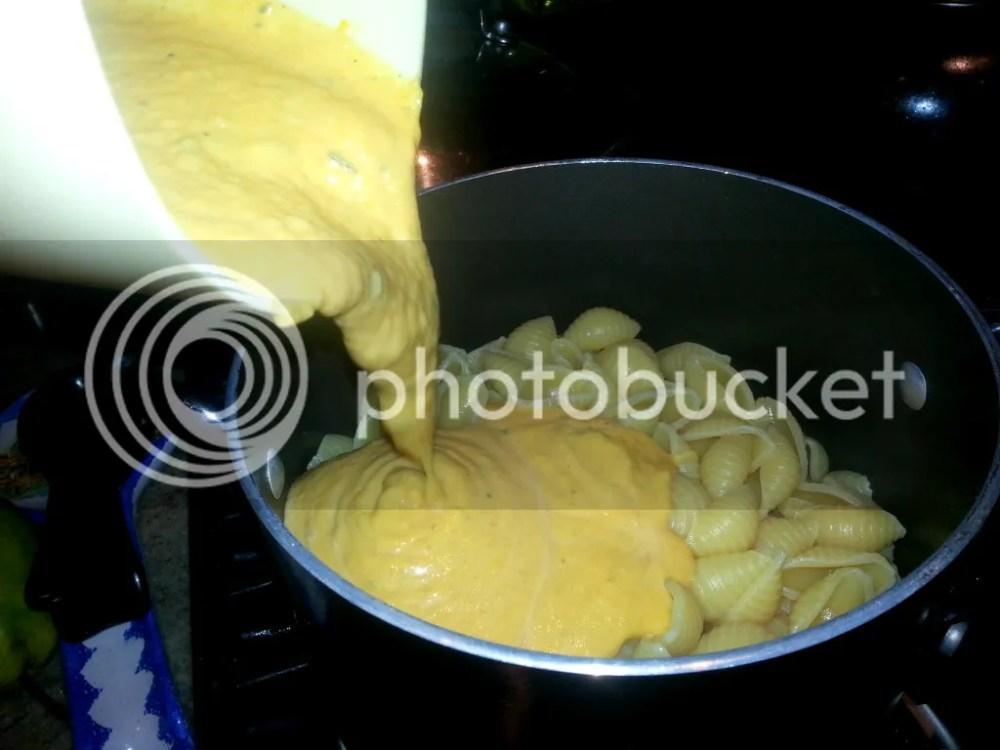Butternut Squash & Parmigiano Pasta (a healthier mac & cheese) (6/6)