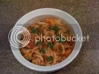 Spicy Chicken and Pasta (5/5)