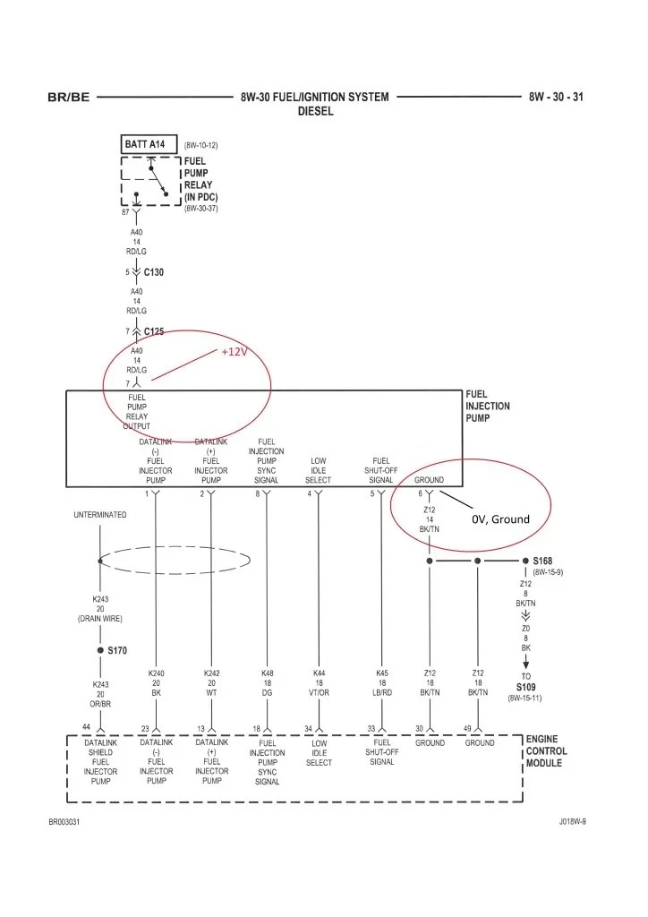47re wiring diagram dodge charger 2014 tail lights truck died - throwing p1689 page 2 cummins diesel forum