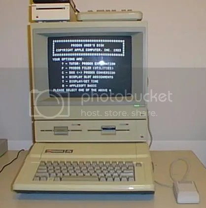 My New Computer (Man, I miss the Apple IIe days)