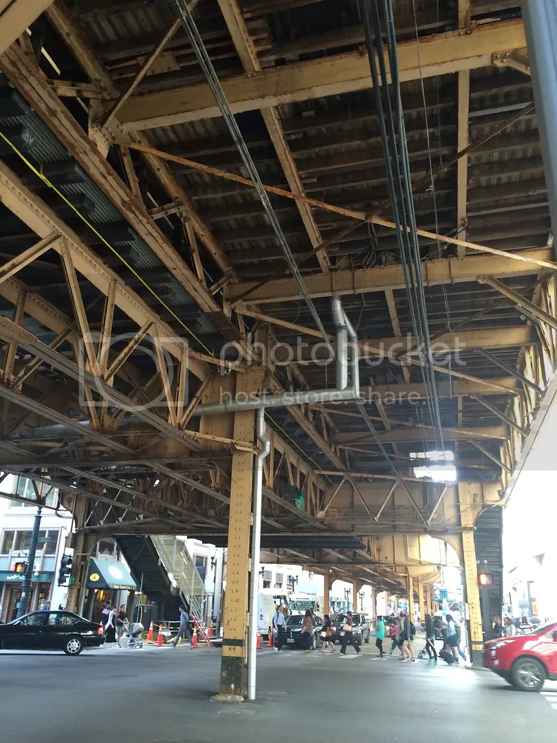 under train tracks chicago