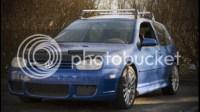 VWVortex.com - 2004 Volkswagen R32/GTI MK4 Roof Rack ...